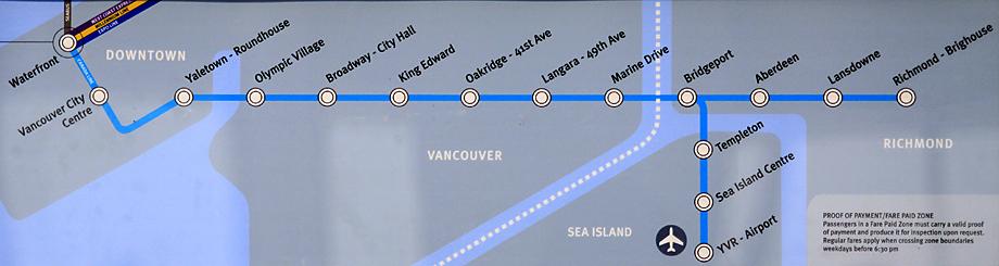 CANADA LINE (カナダライン)