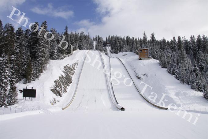 スキー会場 in Whistler