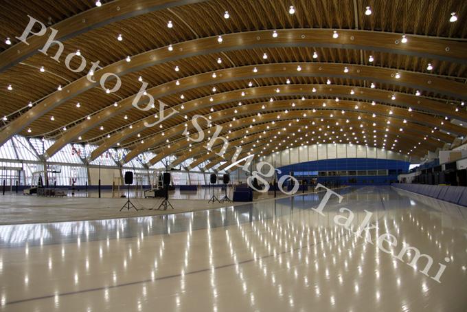 スピードスケート会場 at Oval