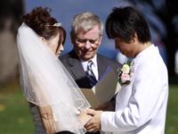 バンクーバーの結婚式