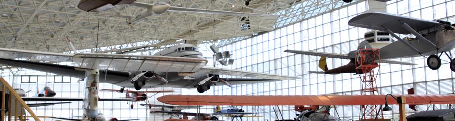 シアトルの航空博物館