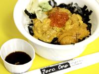 寿司店「Zero One」のウニ丼の写真