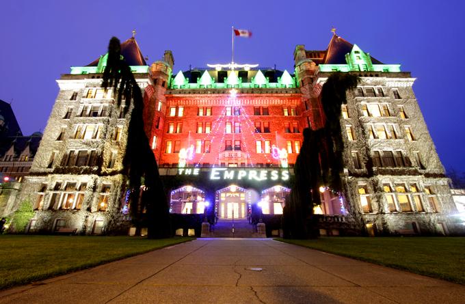 「フェアモント・エンプレスホテル」の写真