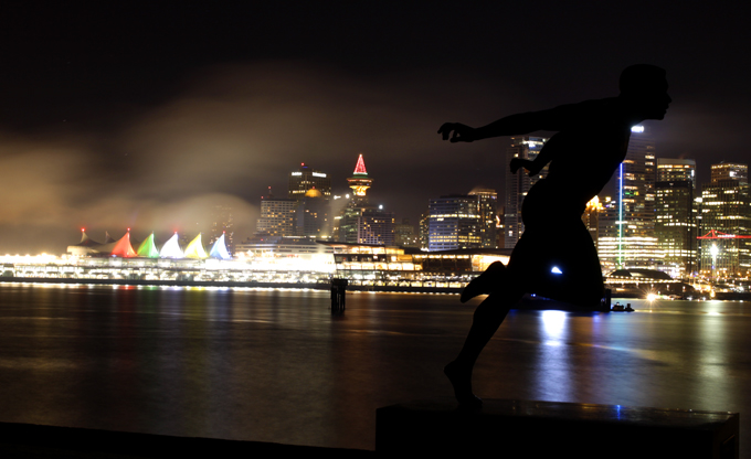 Olympicの街「Vancouver」
