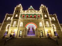 ビクトリアのクリスマスイルミネーション