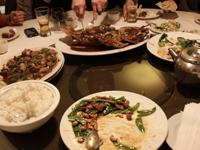 バンクーバーの中華レストラン「雪園」の写真