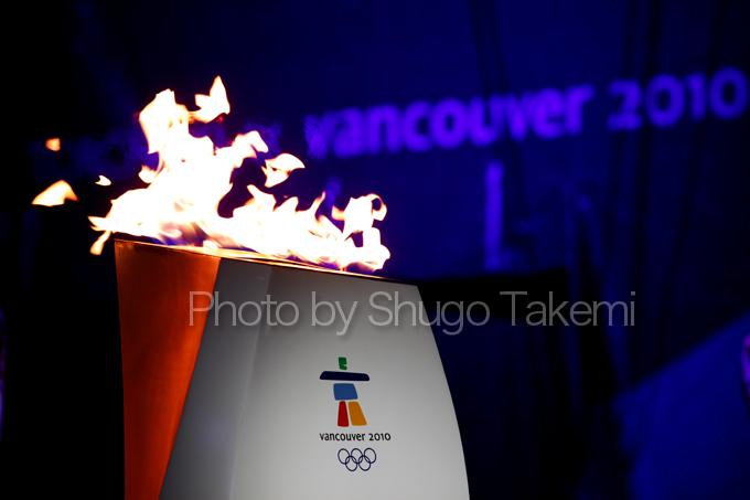 「Vancouver 2010 聖火」