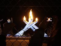 バンクーバー五輪聖火台の写真