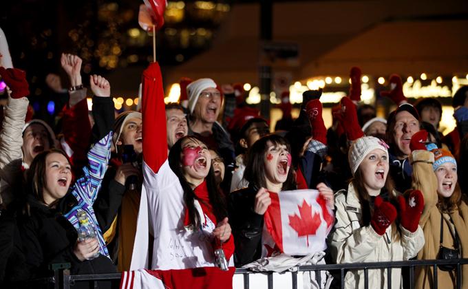 カナダの国民的競技は女性にも人気です。