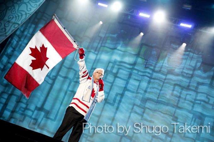 「Go Canada GO」を連呼!