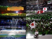 バンクーバーパラリンピック開幕(開会式の写真)