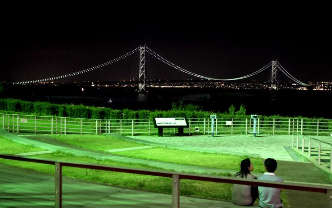 「明石海峡大橋を見ながら」
