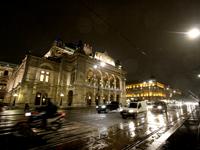 ウィーンの夜景(オーストリア)