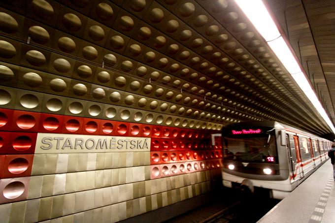 地下鉄の駅がこんなかわいくておしゃれ。