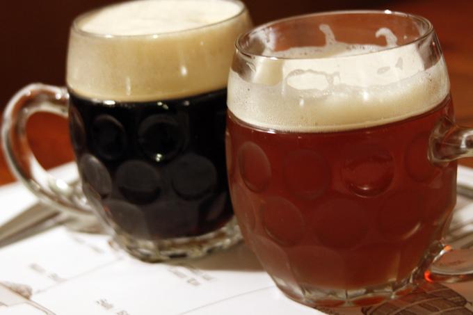 チェコの地ビール