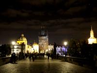 プラハの夜景(チェコ)