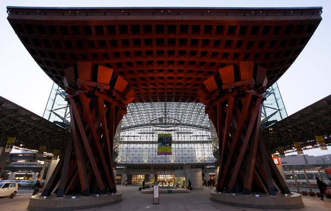 「JR 金沢駅」