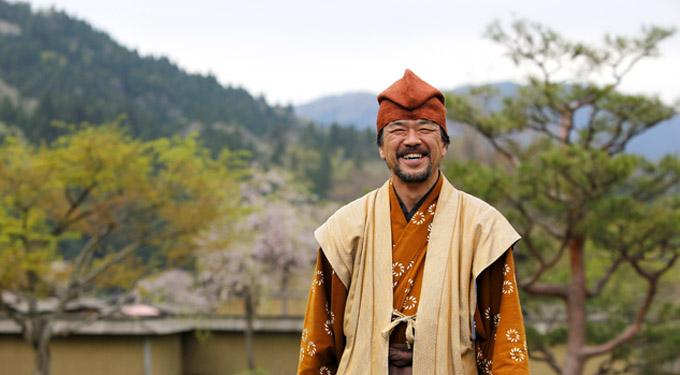 「一乗谷朝倉氏遺跡にて」