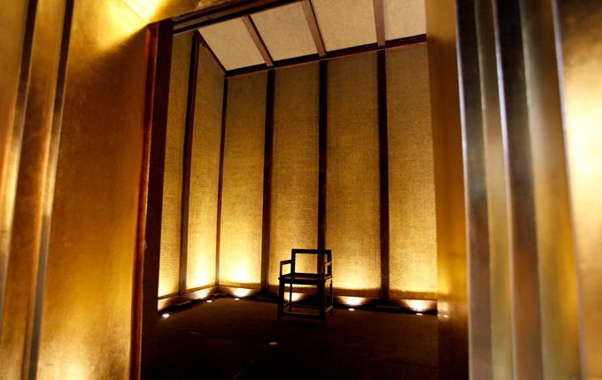 金箔で作られた「黄金の蔵」