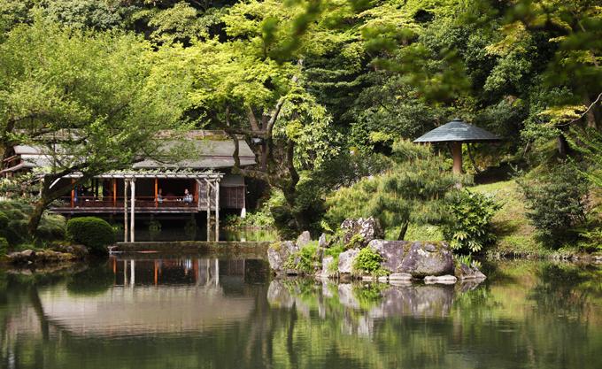 「日本庭園」